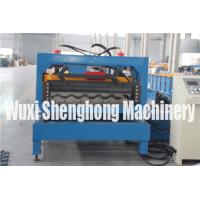China Simple Installation Wall Panel Cold Roll Forming Machine 25 Stations on sale