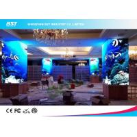 Buy cheap Electronic P4 Curved Indoor Advertising LED Display 100000 Hours Lifetime For Big Mall product