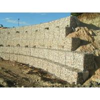 Buy cheap Pierre de panier de Gabion de fil de construction pour la construction de mur de soutènement product