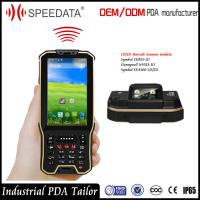 Buy cheap Hand Android Nfc Card Rfid Reader Mobile Industrial With Barcode Scanner In A Unit product