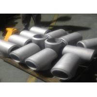 Buy cheap LR 45 Stainless Steel Pipe Fittings 90 Degree Wp304 / 321 AISI ASME B16.9 Standard product