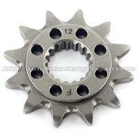 Buy cheap 20 MN Steel Front Dirt Bike Chain Sprocket With Closet Tolerance And Best Teeth Profile product