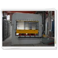 Buy cheap Short Cycle Laminate Hot press Machine With Multi Layer For Wooden Job Veneering product