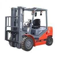 Buy cheap CPCD30 Diesel Powered Forklift Truck 125mm Fork Width With Isuzu Tyres product