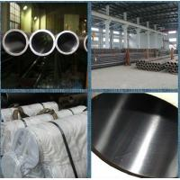 Buy cheap Custom ST52 carbon steel honed tubes , Cold drawn seamless steel tube product