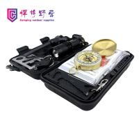 Buy cheap ZJ03 SOS Emergency Box Field Survival Tool Travel Emergency Package Equipment Portable Survival Box product