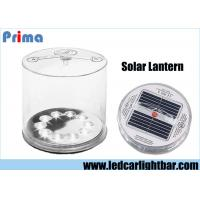 China Portable Rechargeable LED Camping Lights / Inflatable LED Solar Lantern on sale