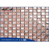 Buy cheap PVD Coating Vacuum Metalizing Equipment High Efficiency For Glass Mosaic Tiles product