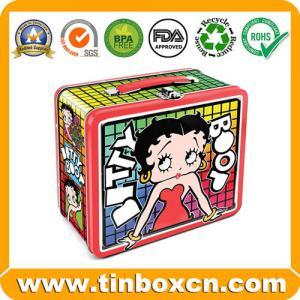Buy cheap Lata do almoço, lancheira, lancheira da lata, caixa da lata com punho product