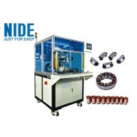 Buy cheap Linear Segment Stator Winding Machine Open Pole Stator Needle Coil Winding Equipment product