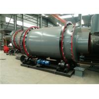 Sludge Rotary Triple Drum Dryer Rotary Industrial Small Size For Building Materials