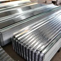 Buy cheap Hot Dipped Galvanized Steel Roof Tile Building Roof Tiles 0.22*665*2440mm Zinc 60g from wholesalers