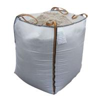 Buy cheap White PP FIBC 1 Ton Bulk Bag For Packing Sand / Cement 1 Ton / 500kg / 600kg product