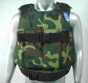 Armure occultable ballistique militaire douce de gilet à l'épreuve des balles de PPE de NIJ0101.04 IIIA