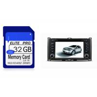 China High Speed Mobile Memory Micro Sd Card 16gb 32gb For Opel / Nissan Car Navigator on sale