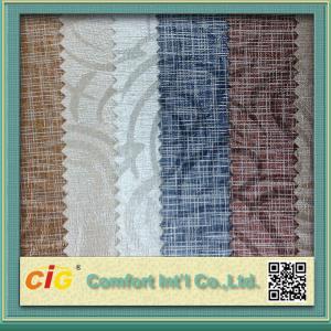 Buy cheap Matériel fait sur commande de similicuir de PVC de décoration intérieure de voiture pour le vêtement/bagage/gant product