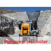 China Manganese ore crusher for sale on sale