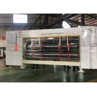 Buy cheap Automatic Adjust Rotary Slotter Machine For Corrugated Cardboard product