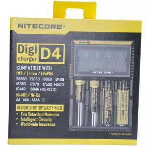 China Nitecore D4  flashlight battery charger, EU/US Plug Intelligent Battery Charger wholesale