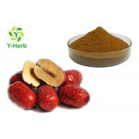 Buy cheap 100% Concentrate Chinese Red Date Fruit Exract Water Soluble Wild Jujube Powder product