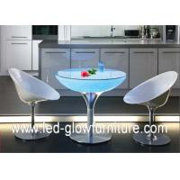 China Acrylic Led Cocktail Table Lights , Color changing illuminated coffee tables on sale