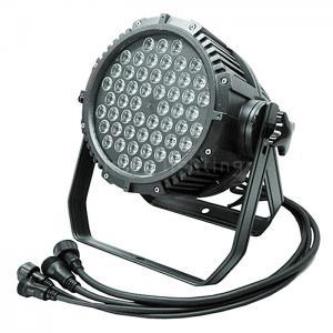 Buy cheap World Popular 54x3W RGBW  Waterproof  IP65 led Par 64 Wash Lighting product