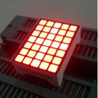 Buy cheap Ultra Red Dot Matrix Led Display 5x7  22 x 30 x 10 mm For Lift Position product