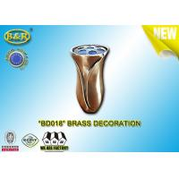 Buy cheap Copper Alloy Brass Vase Tombstone Decoration Bronze Material Ref . BD018 product