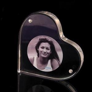 Buy cheap Quadros acrílicos da foto do bloco da forma do coração com boa forma product