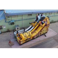 China QIQI Pirate Kingdom Playground Inflatables slide for kids on sale