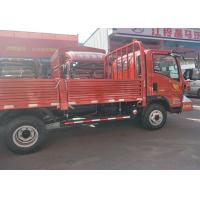 Buy cheap Red / White Mini Cargo Truck 4*2 With Yn4102qbzl Engine High Efficient from wholesalers
