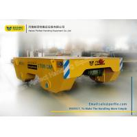 Buy cheap Easy Operated Material Transfer Cart Industrial Plants Used , Yellow product