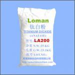 Buy cheap High Whiteness White Power Anatase Type TiO2, High Purity Anatase Titanium Dioxide LA200Loman Brand product