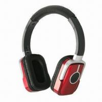 Buy cheap 2.4 to 2.4835GHz Wireless Bluetooth Stereo Headset for VolP, MP3, MP4 and Home Entertainments product