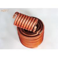 Buy cheap Flexible Condenser Coils in Coaxial Evaporators / Fin Coil Heat Exchanger product