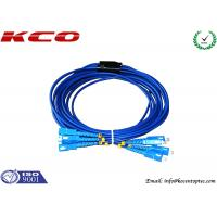 Buy cheap SC to SC Fiber Optic Patch Cord Rodent Proof Armoured Cord Jumper product