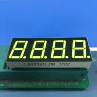 Buy cheap Four Digit 7 Segment LED Display Small Current Drive High Efficiency Easy Assembly product