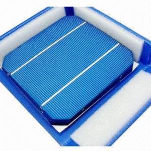 Buy cheap 2012 High-ffficiency 125 Photovoltaics Monocrystalline Solar Cell for Sale product