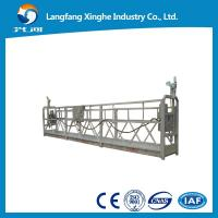 China Facade cleaning equipment 800kg / material handling equipment / ZLP800 suspended platform on sale