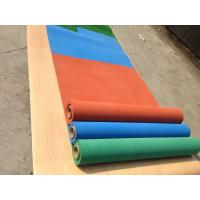 Buy cheap Exercise Room Heavy Duty Gym Flooring Rolls , Coloured Rubber Athletic Flooring Matting from wholesalers