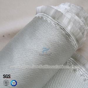 China E-glass Heat Resistant 850g 0.8mm Satin Weave Fiberglass Cloth on sale