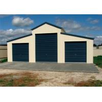 Buy cheap Anti Seismic Steel Barn Structures Kits With Three Rolling Door Sandwich Panel product