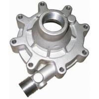 China Auto Parts Casting Green Sand Casting Replacement Water Pump Body / Oil Pump Cover For Car Engine on sale