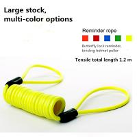 Buy cheap Small Size Anti Theft Lock , 1.2 M Motorcycle Disc Brake Reminder Rope product