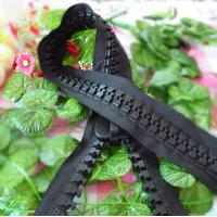 Buy cheap 10# Long Chain Resin Zipper With Plastic Teeth For Handbag And Luggage product
