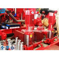 Buy cheap 50Hz / 60Hz Vertical Jockey Pump Fire Protection With Controller , Stainless Steel Material from wholesalers
