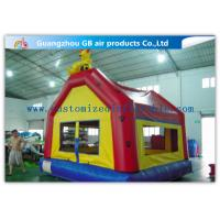 China Puncture Proof Toddler Bouncy Castle , Inflatable Moon Bouncer For Kids Games on sale