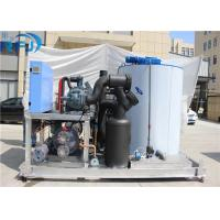 Buy cheap 10 Tons Industrial Flake Ice Making Machine R22 / R404A Refrigerant New Condition product