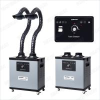 Buy cheap 200 W F6002 Benchtop Fume Extractor For Soldering , Noise Reduction Design product