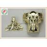 Gold Silver Copper PP Or ABS Plastic Casket Corner 1# Leaf Funeral Decoration for sale